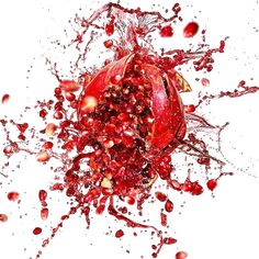Rock hard erections with pomegranate powder, Learn more here.