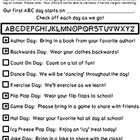 Write in your start date and review with students to get them excited for the countdown!  Copy and send home with students and look forward to all ...