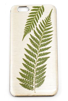 Saw tooth ferns sound super badass, therefore so is this iPhone 6 case. Buy Iphone 6, Iphone 6 Cases, Cool Phone Cases, Beautiful Gifts, Beautiful Things, Artisanal, Phone Accessories, Unique Gifts, My Love