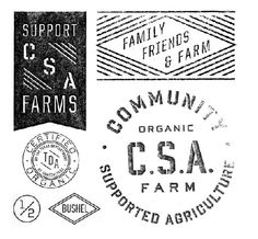 CSA = Community Supported Agriculture