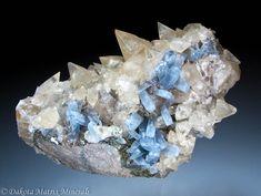 Calcite & Celestine - Dakota Matrix Minerals