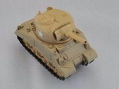KAIYODO CapsuleQ Capsule Q WTM World Tank Museum Series 2 Deform Style Vehicle US Medium M4 Sherman Sand