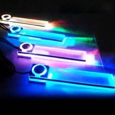 4 X LED Car Interior Decorative Floor Dash Light 7 Color - US$6.99