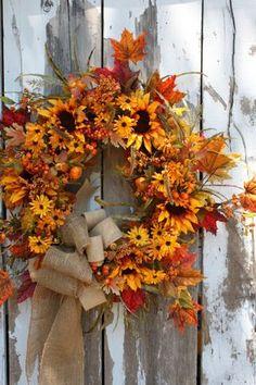 New Fall Wreaths