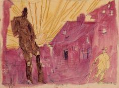 Piet Mondrian, Composition No. 10 (Pier and Ocean), 1915