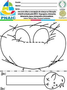 VAMOS PLANEJAR: NOVA BNCC SEM COMPLICAÇÕES 2 ... Preschool Math, Pre School, Nova, Projects To Try, Activities, Spring, Animales, Crafts, Autism