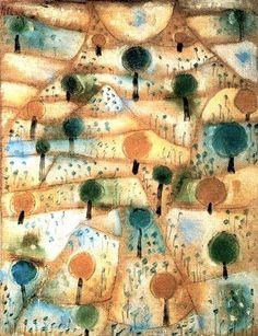 "Paul Klee, ""Small Rhythmic Landscape"", 1920"