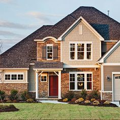Ranch Style Homes With Stone Exteriors Top 7 New Home Exterior Types North Carolina New Home