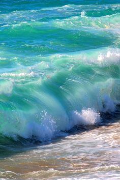 ocean waves are so beautiful