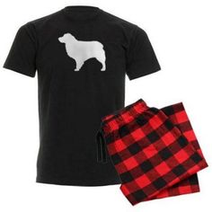 Cafepress Personalized Australian Shepherd Men's Dark Pajamas, Size: XL, Red