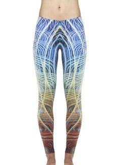 Evolution Leggings, Amanda Sage, visionary art