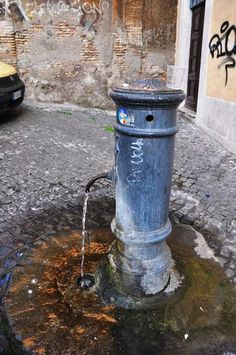 Is the public fountain water in Rome really safe to drink? YES! It was the best tasting water I have ever had. Yum!