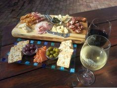 Platter and wine Tapas, Dairy, Cheese, Wine, Platter, Events, Food, Eten, Meals