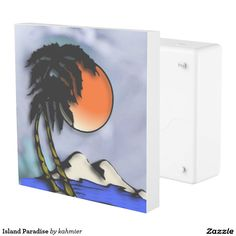 Island Paradise Outlet Cover