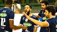 Sada Cruzeiro largou na frente na semifinal
