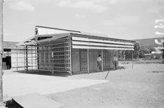 Jean Prouve's Maison Tropicale, 1949 --innovative solar mitigation strategies.