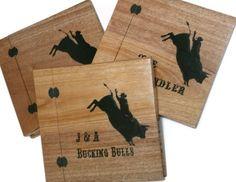 Set of Three Wood Scrapbooks Customized  by BillsWoodenPleasures