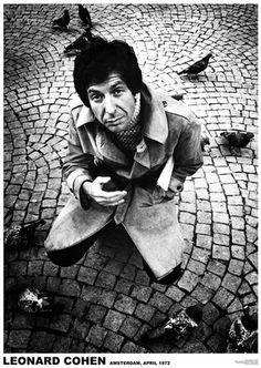 Leonard Cohen Kunstdruck bei AllPosters.de