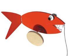 Alexander Calder Shark Pull Toy