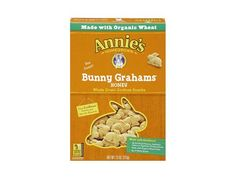100 Cleanest Packaged Food Awards 2013:  Snacks & Treats: Annie's Homegrown honey bunny grahams  http://www.prevention.com/food/healthy-eating-tips/100-cleanest-packaged-food-awards-2013-snacks-treats?s=16
