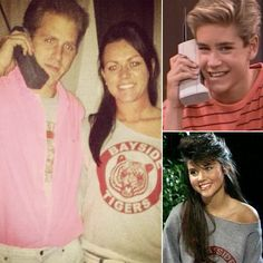'90s Halloween Costumes For Couples: Zack Morris and Kelly Kapowski From Saved by the Bell