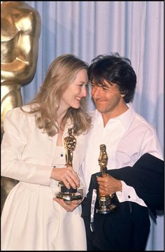 Meryl Streep and Dustin Hoffman, 1980