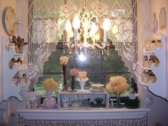 window with lace | Flickr - Photo Sharing!