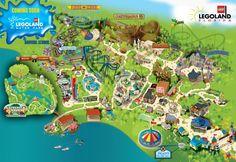 LEGOLAND Florida - Park Map
