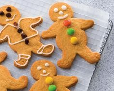 Gingerbread Men recipe from Food in a Minute