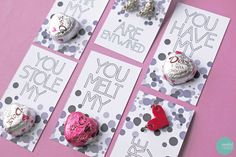 9 Easy DIY Valentines Day Cards for Kids - @jonahbonah