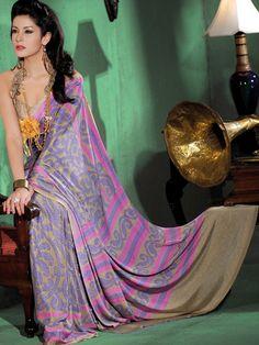 KALAKRUTI Designer Saree
