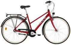 Crescent Olivedal (punainen)  http://www.crescent.fi/pyörät/kaupunkipyörät