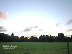 日の出 / beautiful sunrise **from Christchurch, New Zealand**