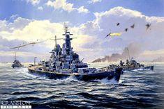 USS Missouri under attack by bwan69 on DeviantArt