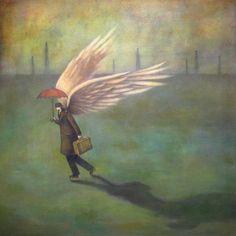 Homesick Traveler Painting - Duy Huynh