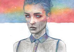 BENDIS! - turecepcja: Watercolors by Tomasz Mrozkiewicz