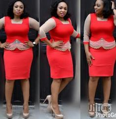 Dress Outfits, Fashion Dresses, Women's Fashion, Fashion Trends, Classy Dress, Classy Outfits, Jw Meetings, African Lace Dresses, African Attire