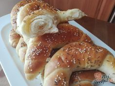 Russian Recipes, Bagel, French Toast, Food And Drink, Bread, Chicken, Cooking, Breakfast, Sweet
