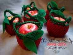 Christmas Party – Apple Cozy – Free Pattern Review