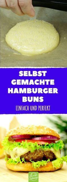 Mit unserem #Rezept machst du die ultimativen Burgerbrötchen! #hamburger #bun #rezepte #burgerbun #brötchen