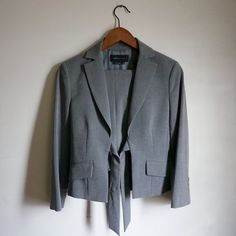 BCBGMAXAZRIA Jacket Pant Set Perfect for the work place for formal occasions. Worn once only. Perfect condition. Really sleek and beautiful design. Jacket is an XS and pants are a size 0. Pants are 3/4 length. BCBGMaxAzria Other