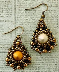 Linda's Crafty Inspirations: Pattern Review: Marquesa Earrings