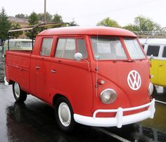 VW pick-up double cabine