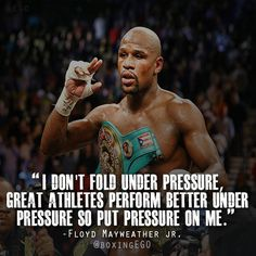 Floyd Mayweather Quote
