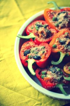 stuffed bell peppers.