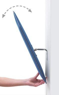 Decorative acoustical panels FLAP by Caimi Brevetti design Alberto Meda, Francesco Meda