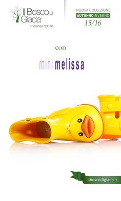Nuova Collezione #minimelissa Autunno-Inverno 15/16. #Scarpe per #bambini, #ragazzi e #donne alla #moda. Acquistale su www.ilboscodigiada.it - #shoes #FW1516