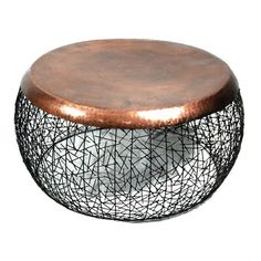 Copper Drum Coffee Table More
