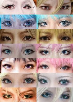 cosplay eyes - Google Search