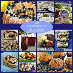 52 blueberries recipes